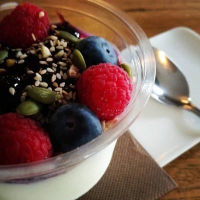 Pannacotta con Frutas